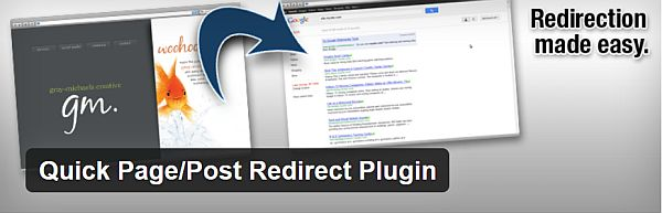 Page redirect for WordPress
