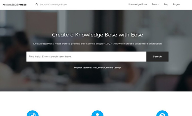 KnowledePress WordPress Theme