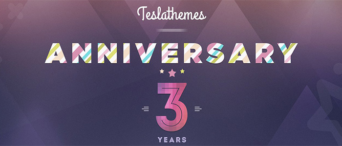Get 50% Off In Telsa Themes 3rd Anniversary Celebration (+ An Awesome Giveaway)